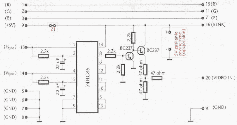 cable description for vga to scart converter cable scheme cablediagram vga to scart converter