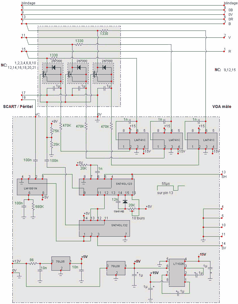 monitor cable wiring diagram page 4 wiring diagram and schematics rh rivcas org